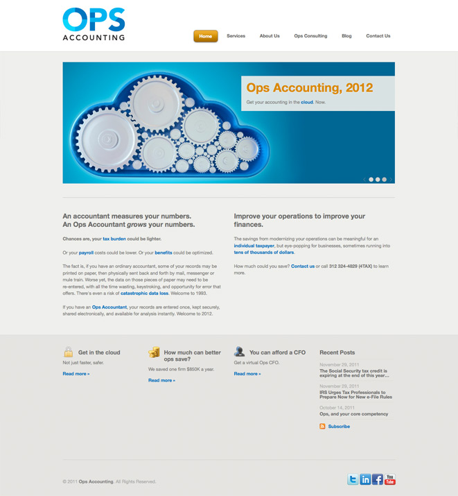 Ops Accounting website