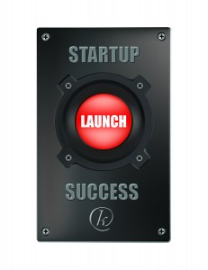 Startup Launch button