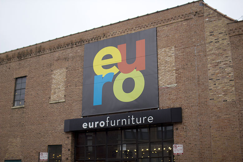 EuroFurniture signage