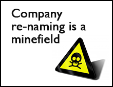 Renaming is a Minefield