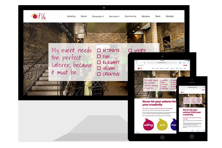 FIG's Responsive Website