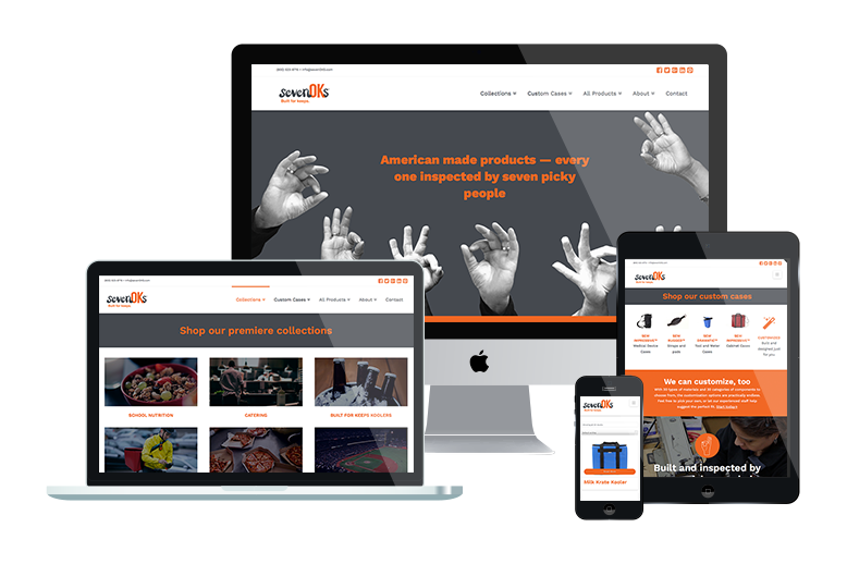 sevenOKs' Responsive Website