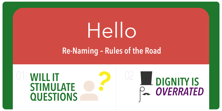 Click to see our 16 rules of renaming