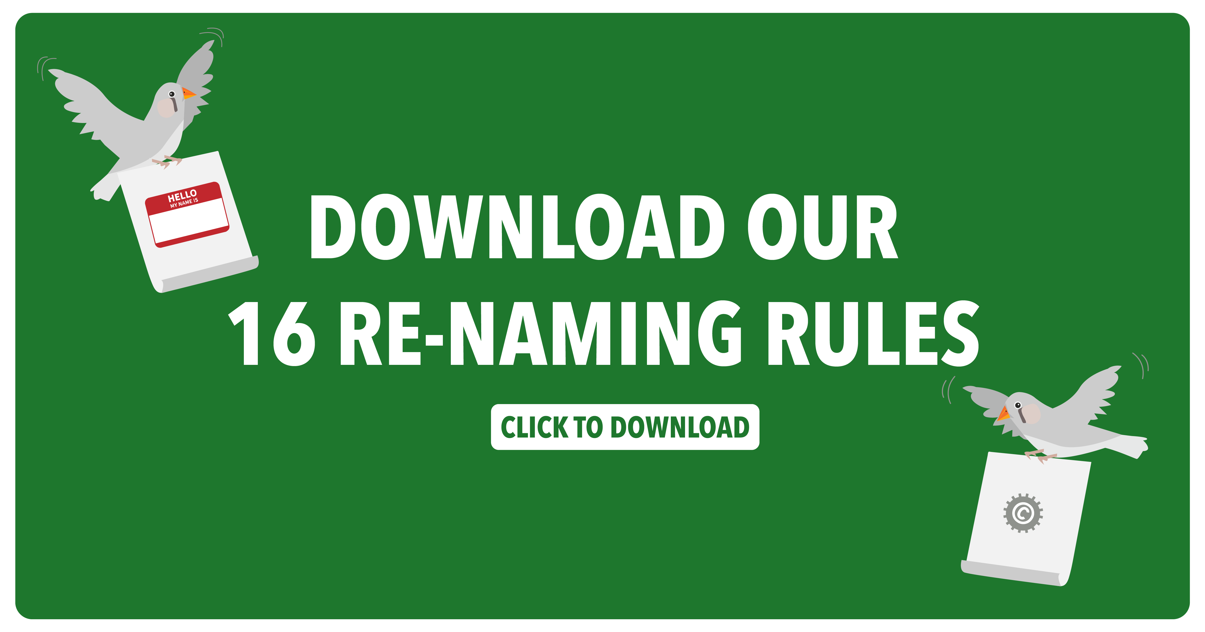 Download our 16 Rules of Renaming here